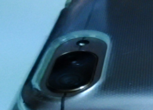 レンズ部分のケースの肉厚