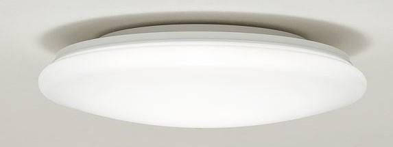 天井ぴったりのシーリング照明の例