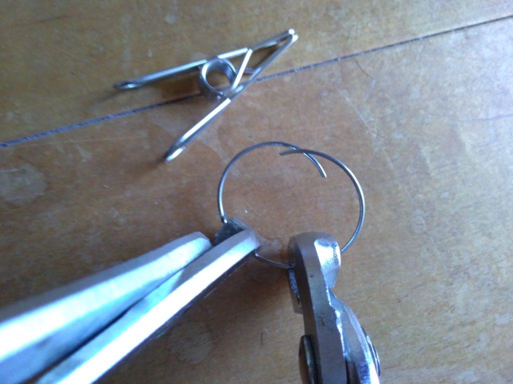 ピンチのリングの補修