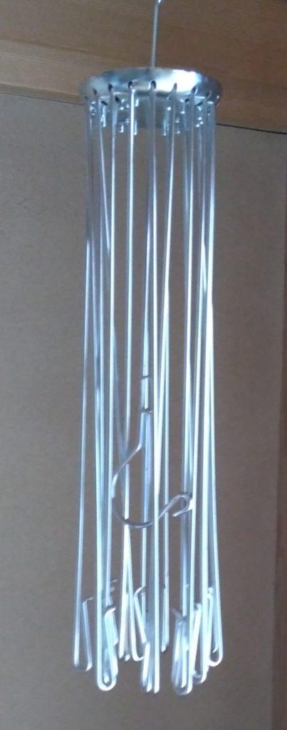 畳んだパラソルハンガー