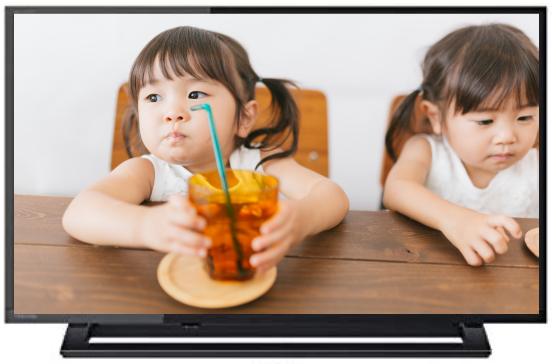 テレビで見る子供の写真