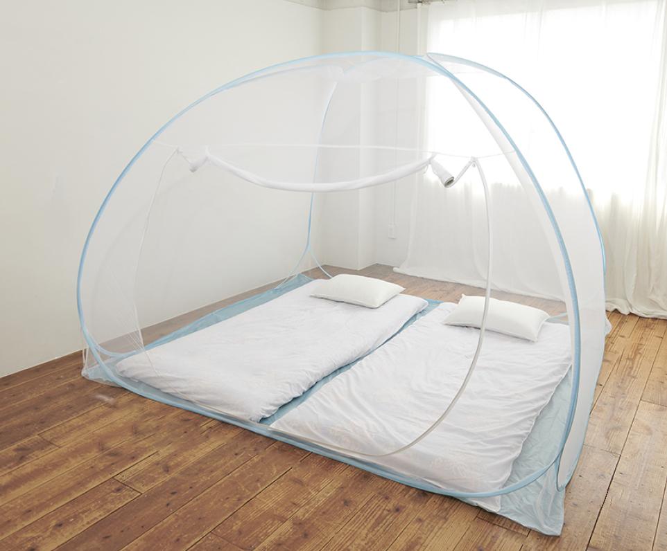 テント型の蚊帳